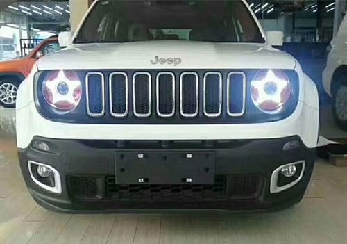 呼和浩特汽车改灯多少钱